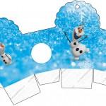 Caixa Cupcake Olaf Frozen