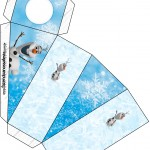 Caixa Fatia Olaf Frozen