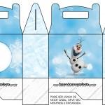 Caixa Lembrancinha Olaf Frozen