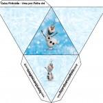 Caixa Pirâmide Olaf Frozen
