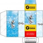 Caixa Remédio Olaf Frozen