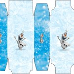 Caixa Sabonete Olaf Frozen