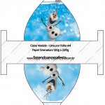 Caixa Vestido Olaf Frozen