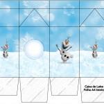 Caixa de Leite Olaf Frozen