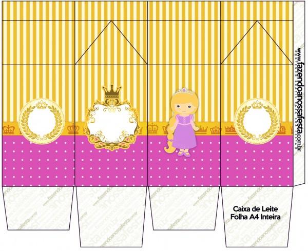 Caixa de Leite Princesa Loira