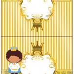 Cartão Agradecimento Príncipe Afro