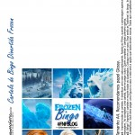Cartela de Bingo Frozen
