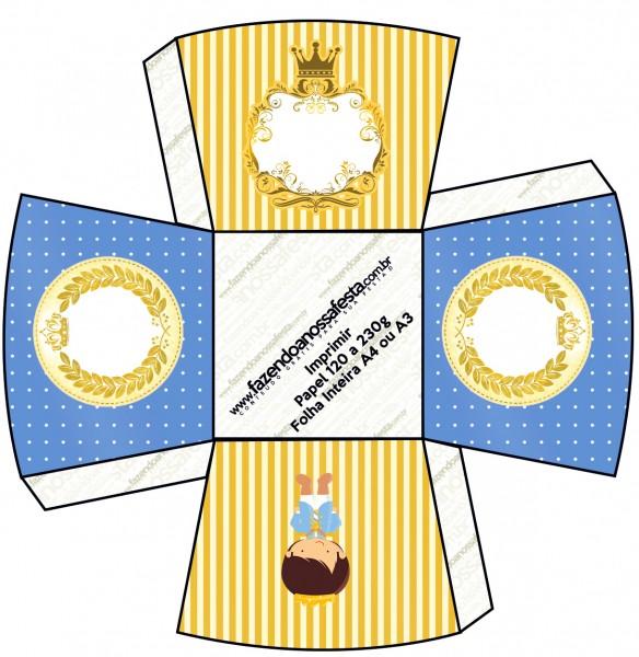 Chachepô de Mesa Príncipe Moreno