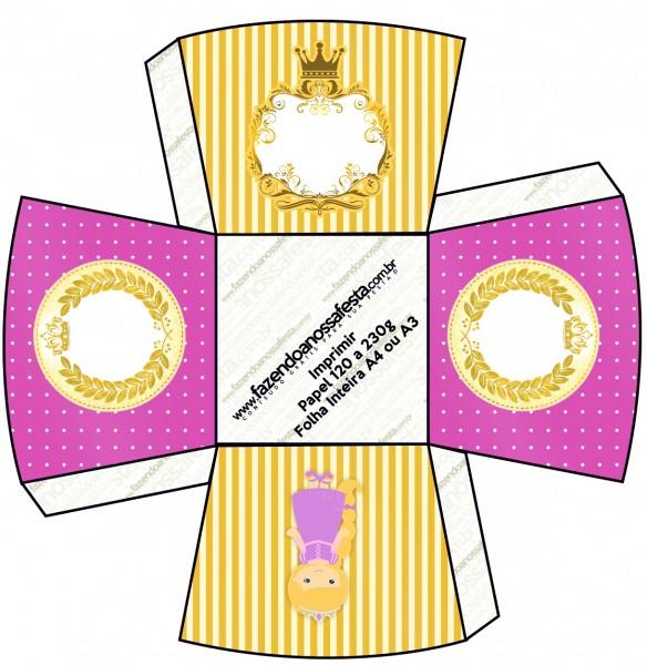 Chachepô de Mesa Princesa Loira