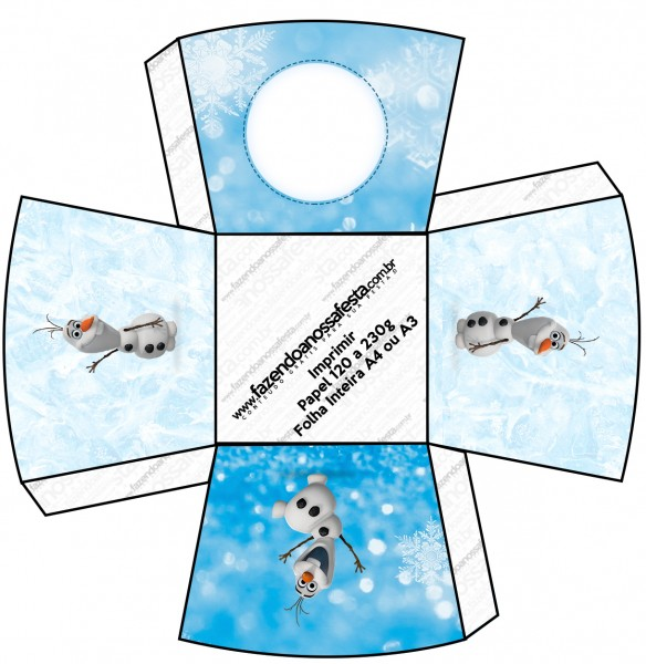 Chachepot Olaf Frozen