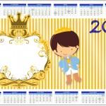 Convite Calendário 2014 Príncipe Moreno