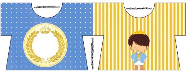 Convite Camisa Príncipe Moreno