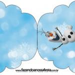 Convite Cupcake Olaf FrozenConvite Cupcake Olaf Frozen