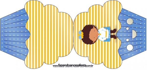 Convite Cupcake Príncipe Afro