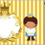 Convite Ingresso Príncipe Afro