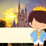 Convite, Moldura e Cartão Príncipe Moreno
