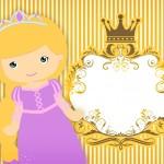 Convite Princesa Loira