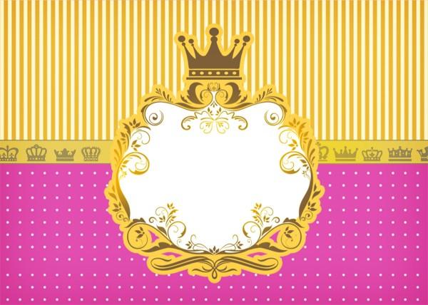 Convite Princesa Princesa Loira