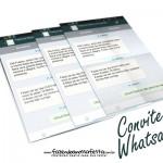 Convite Whatsapp personalizado – Pronto para imprimir!