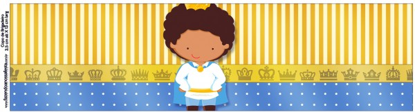 Copo Brigadeiro Príncipe Afro