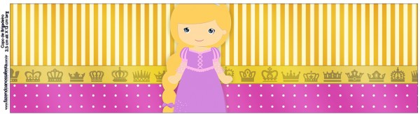 Copo Brigadeiro Princesa Loira