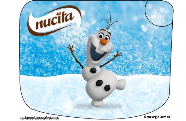 Creminho Nucita Olaf Frozen