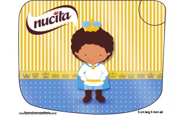Creminho Nucita Príncipe Afro