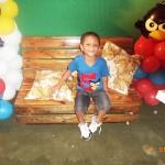 Festa Angry Birds do Bruno