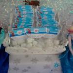 Saquinho de Balas Festa Frozen da Sofia