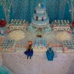 Bolo Festa Frozen da Sofia