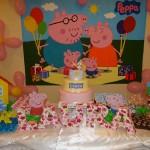 Letras 3D Festa Peppa Pig da Laura