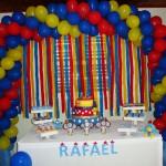 Mesa de Doces Festa Galinha Pintadinha do Rafael