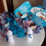 Plaquinhas Divertidas Festa Frozen da Isabela