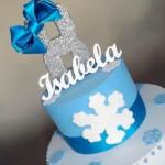 Bolo Festa Frozen da Isabela