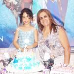 Decoração Festa Frozen da Sarah