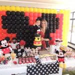 Mesa de Doces Festa Mickey do João Pedro