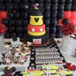 Bis e Bolo Festa Mickey do João Pedro