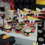 Cupcakes Festa Mickey do João Pedro