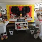 Painel de Balão Festa Mickey do João Pedro
