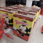 Rótulo Toddynho Festa Mickey do João Pedro
