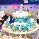 Bolo Festa Frozen da Sarah