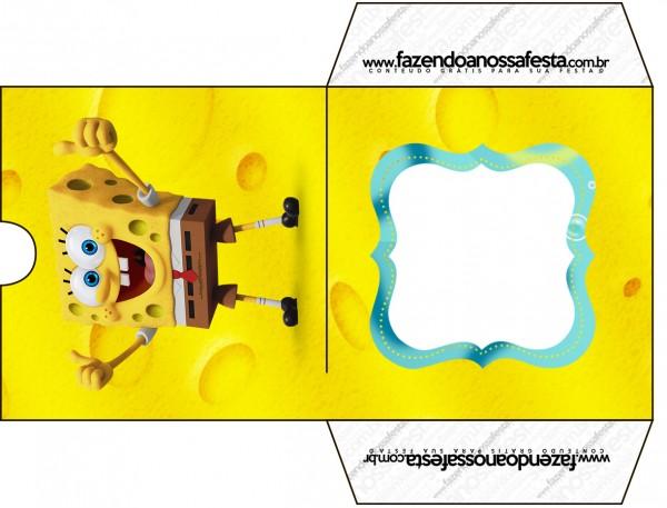 Envelope CD DVD Bob Esponja - Um Herói Fora D'Água