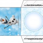 Envelope CD DVD Olaf Frozen