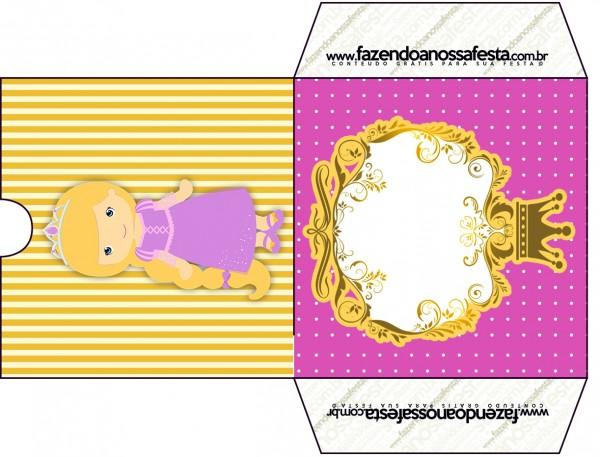 Envelope CD DVD Princesa Loira