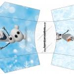 Envelope Fritas Olaf Frozen