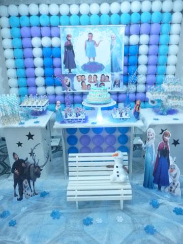 Festa Frozen da Emily