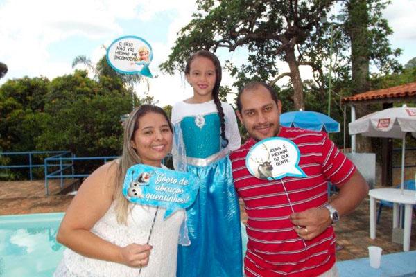 Festa Frozen da Isabela
