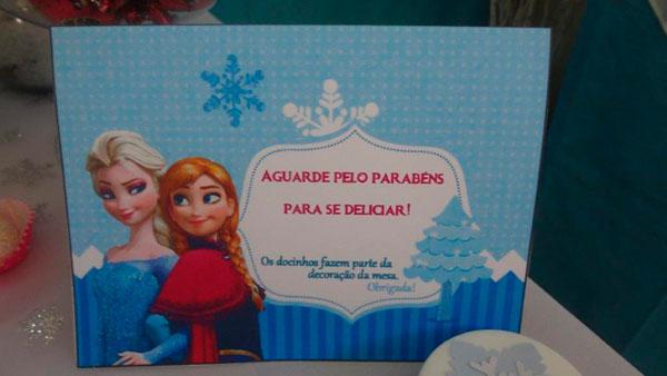 Festa Frozen da Sofia