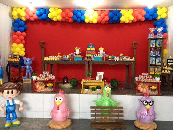Festa Galinha Pintadinha do Davi