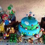Festa Mario Bros do Carlos!